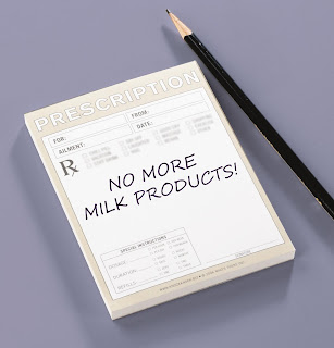 No More Milk Products!