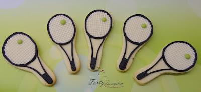 ciasteczka tenis