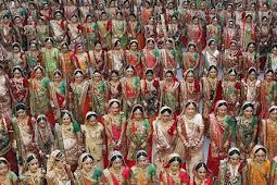 Pengusaha Berlian Danai Nikah Massal 251 Pengantin Wanita