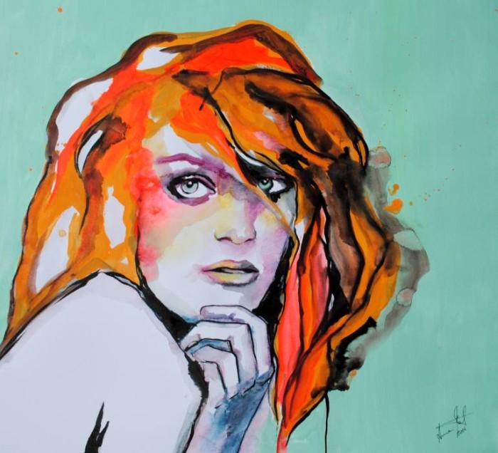Итальянская художница. Anna Mat