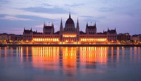 Gedung Parlemen Hongaria, Budapest