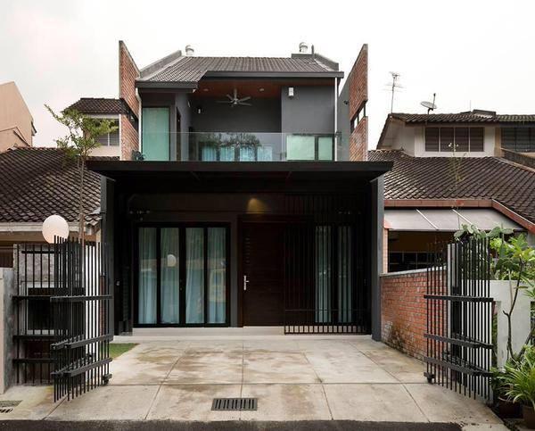 Aku bukan bidadari id dan reno sapa cakap rumah biasa2 for Interior design di bungalow artigiano