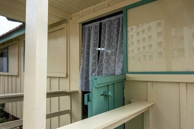 Vagão do Armistício - detalhe da porta principal