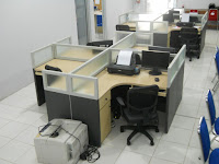 Meja Sekat Kantor - Meja Kubikel - Cubicle Workstation Table