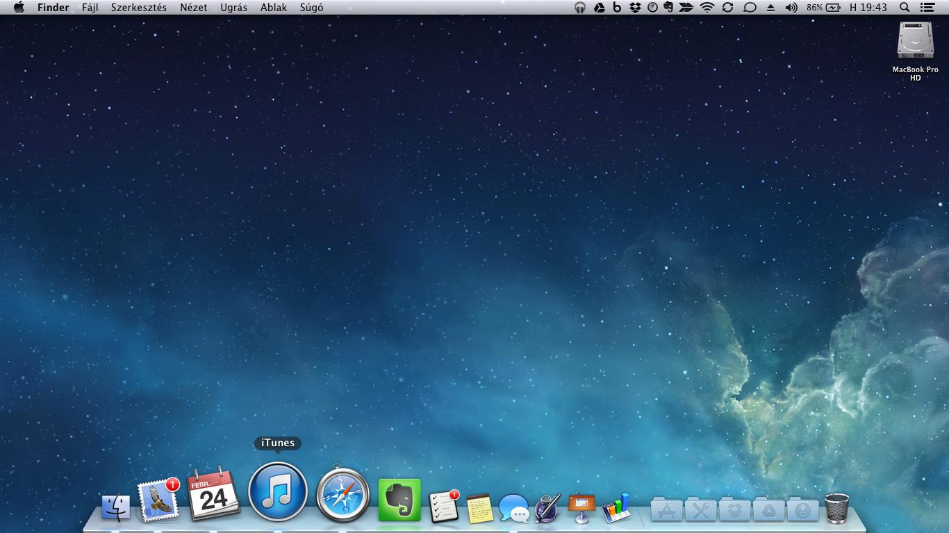 HP Probook Mac OS X Mountain Lion