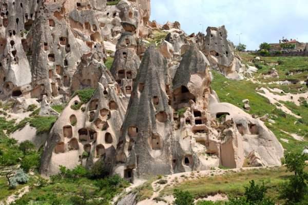 Cappadocia - stanci cu forme ciudate