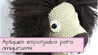http://aramelaartesanias.blogspot.com.ar/2018/05/amigurumis-apliques-esponjados.html