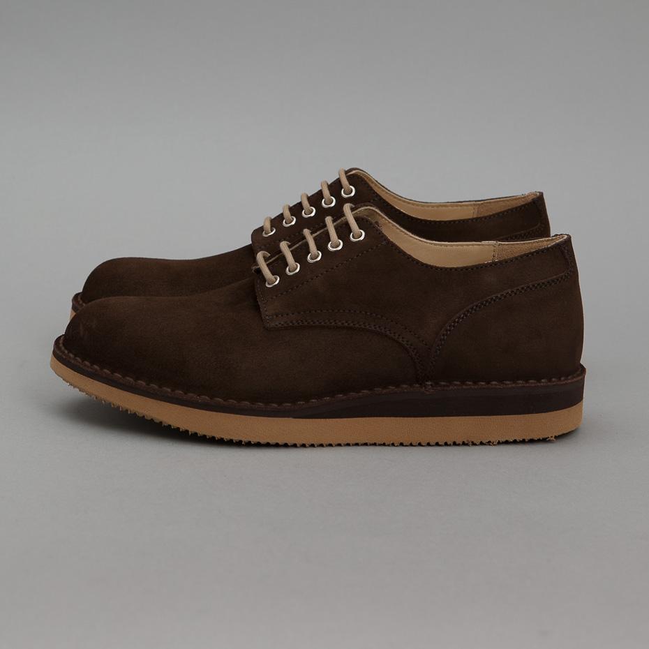 845465adc23 WEAR DIFFERENT: Fracap Postman Shoe Coffee