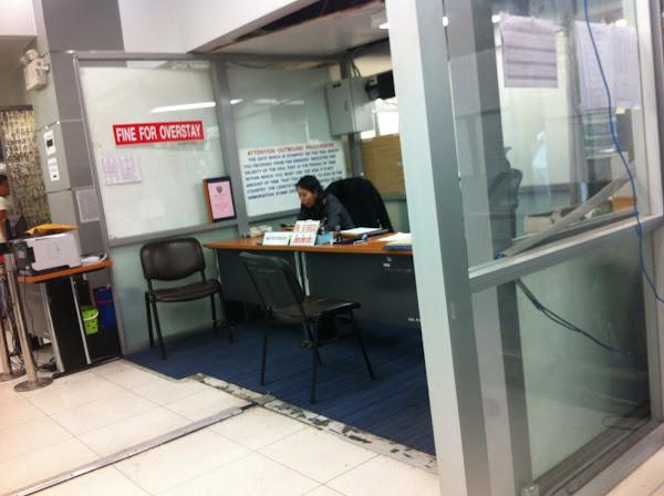 Impuesto de salida de Tailandia