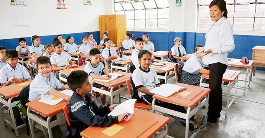 MINEDU: En Abril del 2020 se inicia la Evaluación de Desempeño Docente a Nivel Nacional