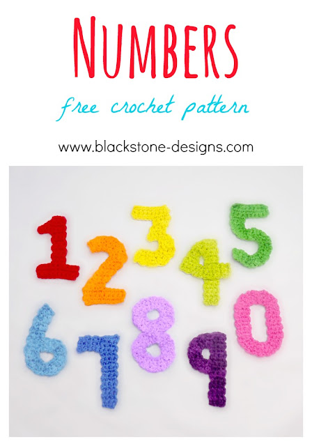 Free Crochet Patterns for Numbers