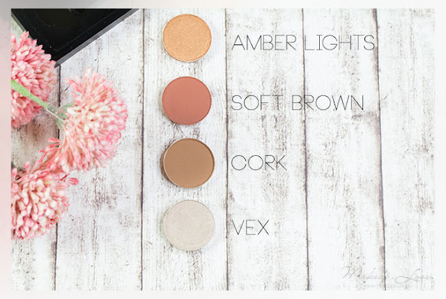 MAC Lidschatten Haul Soft Brown Cork Amber Lights Vex