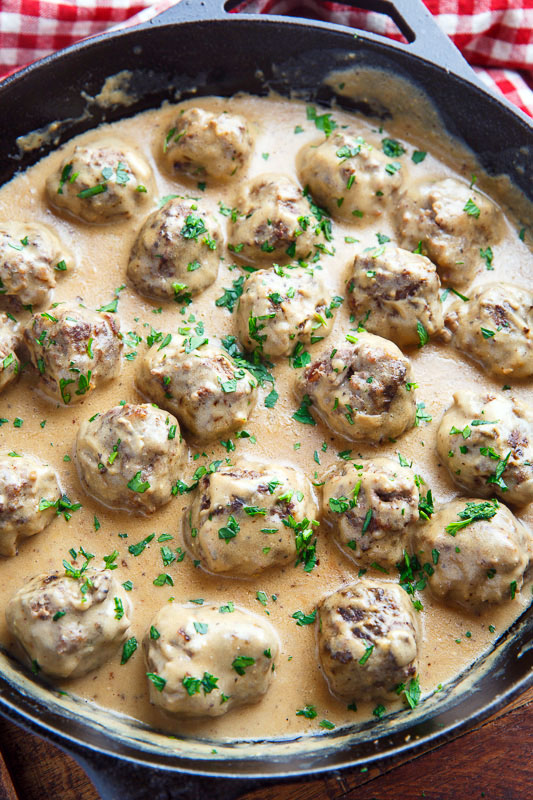 Oct 17,  · Through time, people have devised several ways of mixing and making Swedish meatballs even within places in Sweden. Swedish meatballs can either be served on its own or with other dishes. TRY THESE SWEDISH MEATBALL RECIPES! 1. HEAVY CREAM SWEDISH MEATBALLS. If you love your gravy thick and creamy then you will love this recipe.