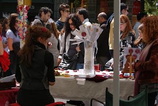 Diada de Sant Jordi  (Barcelona) per Teresa Grau Ros
