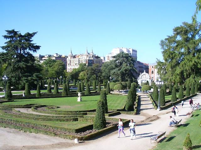 Parque del Retiro, Madri