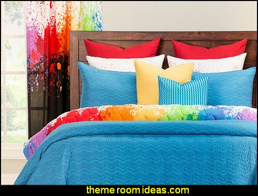 Decorating Theme Bedrooms Maries Manor Splatter Paint