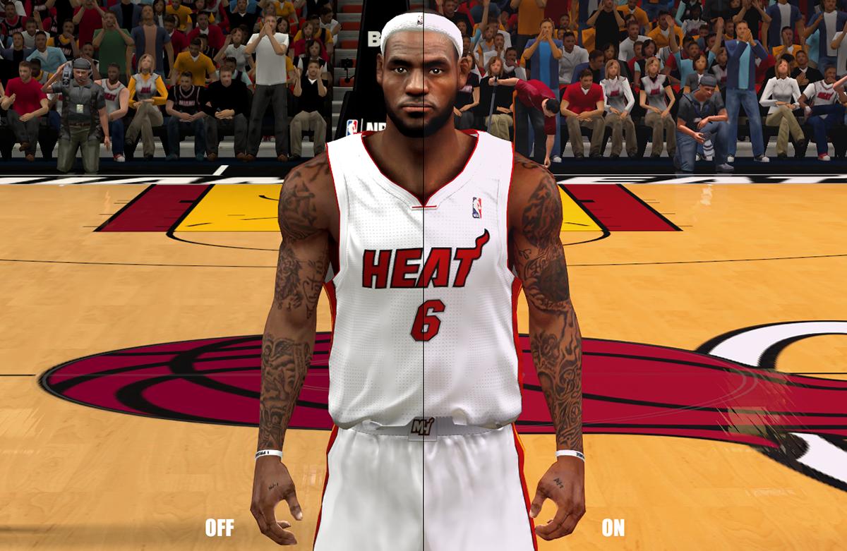 NBA 2K14 Next-Gen Graphics Mod for PC [ENB] - NBA2K ORG