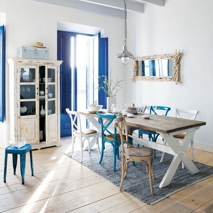 Dining Rooms With Mixed Chairs 4