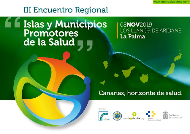 """Los Llanos de Aridane será sede del III encuentro regional de """"Islas y Municipios Promotores de la Salud"""""""
