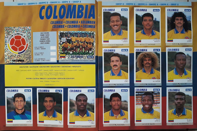 USA 94 WORLD SOCCER CHAMPIONSHIP GROUP A COLOMBIA