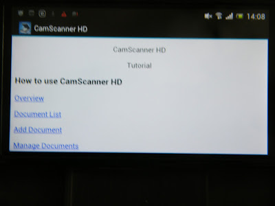AndroidApsBlog: Cam Scanner HD