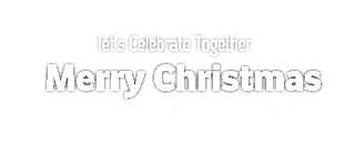 Christmas Stylish Transparent PNG Text