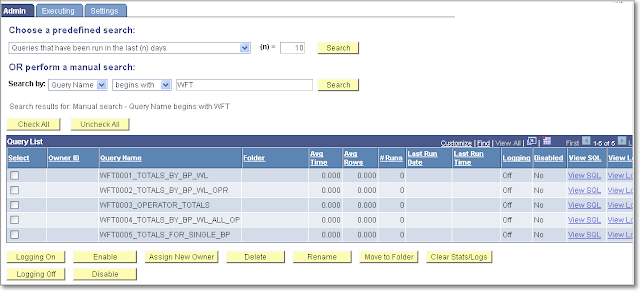 dating and dateout in peoplesoft query