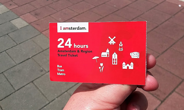 Biglietto mezzo pubblici Olanda