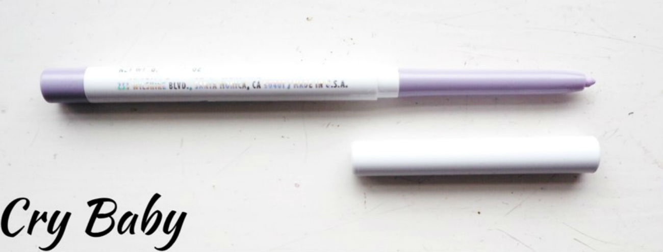 Review of Colourpop Creme Gel Liners, Cry Baby shade