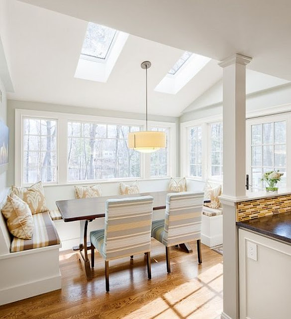 """Nook Dining Room Ideas: """"I Design For You"""" By The Cabinet Studio (Canada) Inc"""
