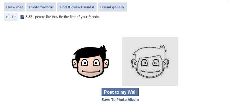 Draw Me Now New Facebook App Review   Facebookgamesapps