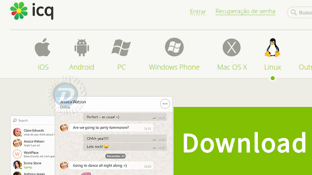 ICQ para Linux Download