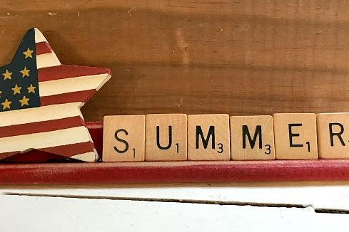 Seasonal Scrabble Tile Signs