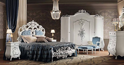 Indonesia Furniture Exporter,Classic Bedroom Furniture,French Provincial Furniture Indonesia code A177 Classic bed room white painted furniture,classic bed room furniture Indonesia