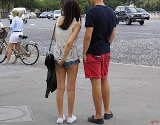 chicas-shorts-metido