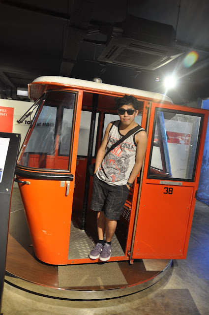 Singapore 10 Fun Activities - Cable Car Museum Singapore