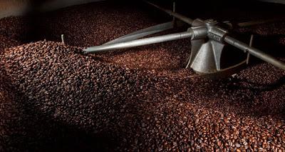Tostatura del caffè.