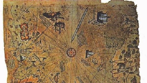 O Χάρτης του Piri Reis -Τον έφτιαξαν εξωγήινοι;