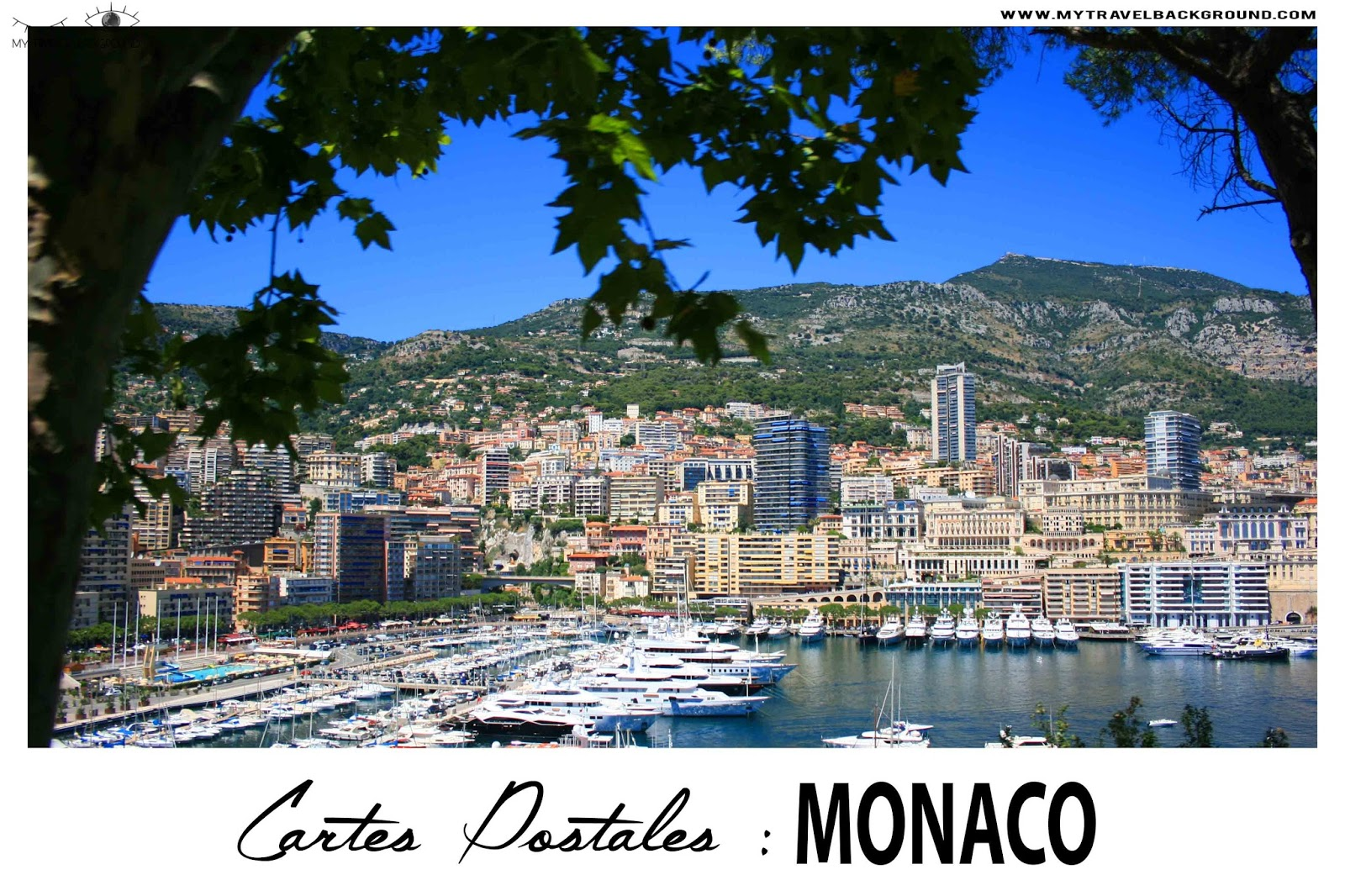 My Travel Background : Cartes Postale Monaco