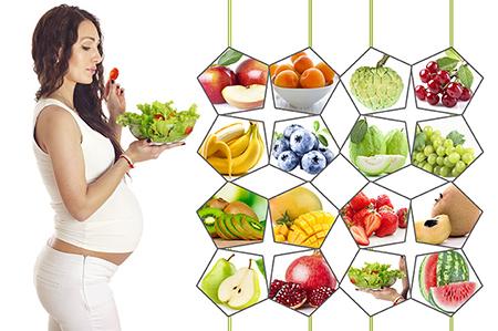 Chế độ dinh dưỡng cho bà bầu chi tiết qua từng tháng
