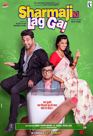 Poster Of Bollywood Movie Sharma ji ki lag gayi 2019 300MB Pdvd Full Hindi Movie