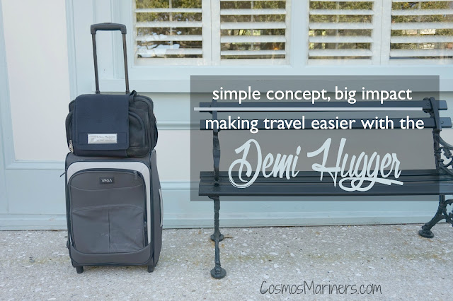 Simple Concept, Big Impact: Making Travel Easier with the Demi Hugger (+ Giveaway!) | CosmosMariners.com