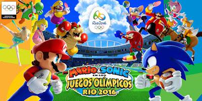 Mario y Sonic juegos olímpicos RIO 2016