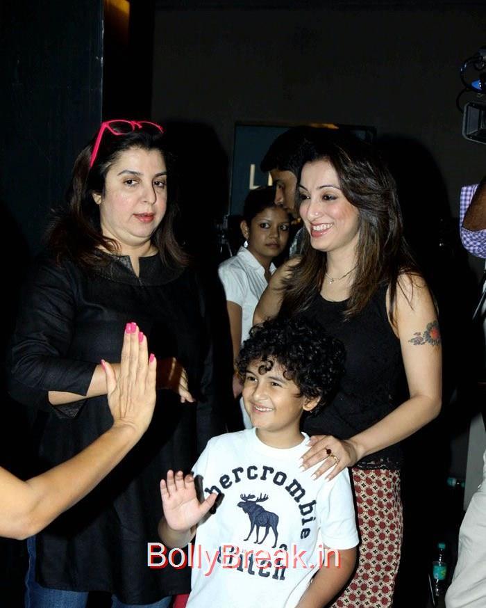 Farah Khan, Madhurima Nigam, Mini Mathur, Madhurima Nigam Hot Pics At Film 'Cinderella' Special Screening
