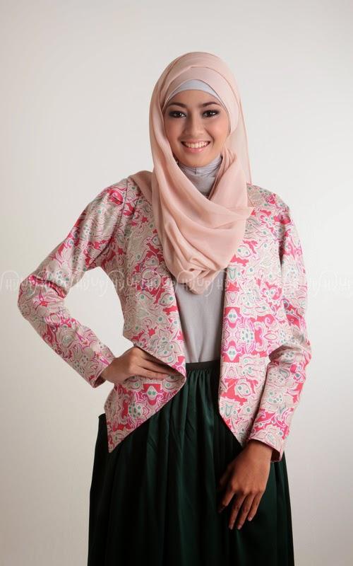 Contoh Baju Muslimah Model Terbaru