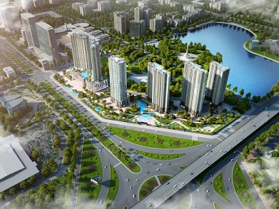 Phối cảnh dự án Vinhomes Trần Duy Hưng