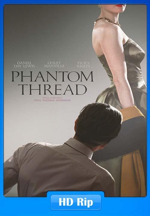 Phantom Thread 2017 WEB-DL 720p | 480p 300MB | 100MB HEVC Poster