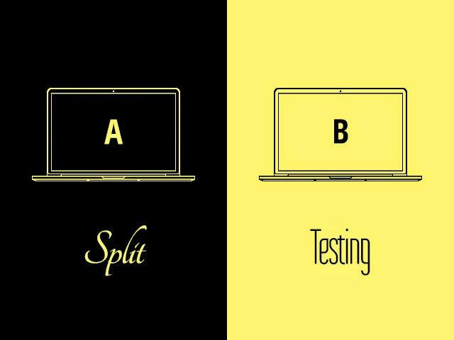 A/B-Split-Tests optimieren Landingpages.