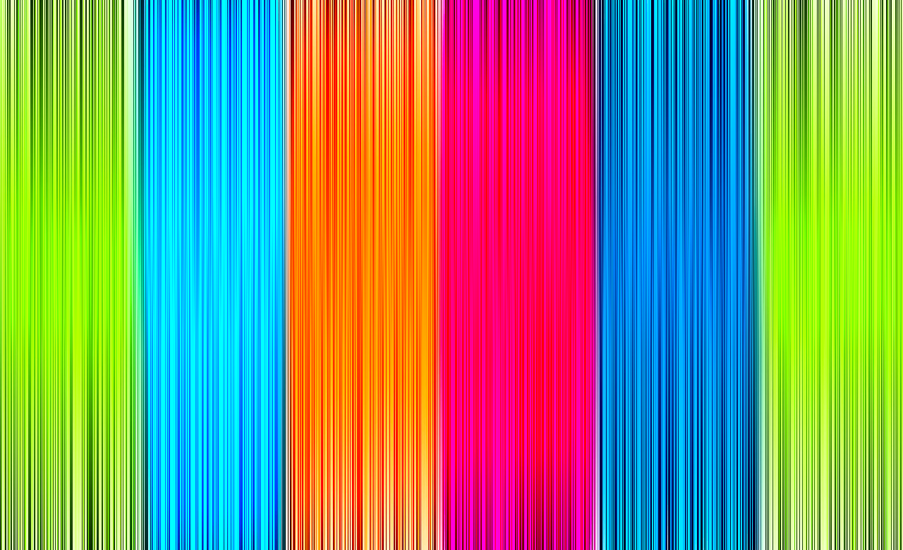 3d Abstract Rainbow Wallpaper Acid Wire Colourful Wallpaper Wallpaper