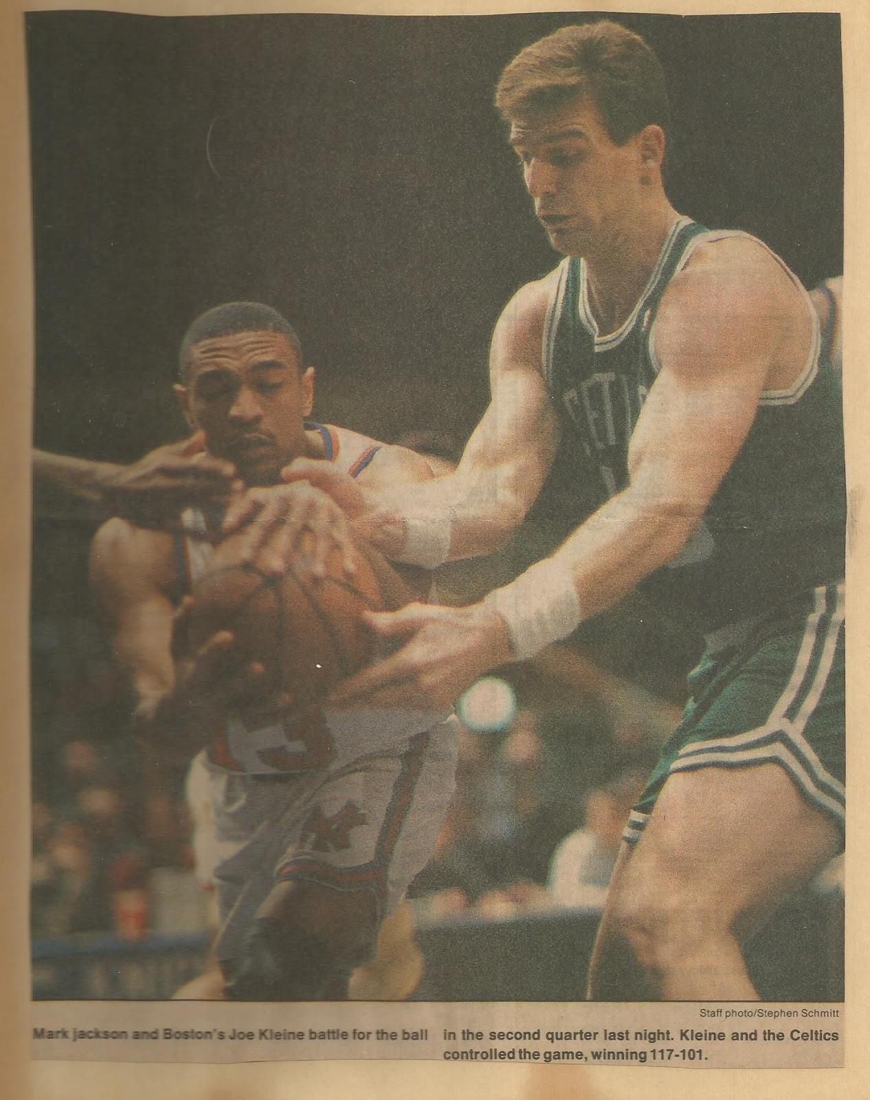 What the Hell Happened to   Joe Kleine?   CelticsLife com - Boston
